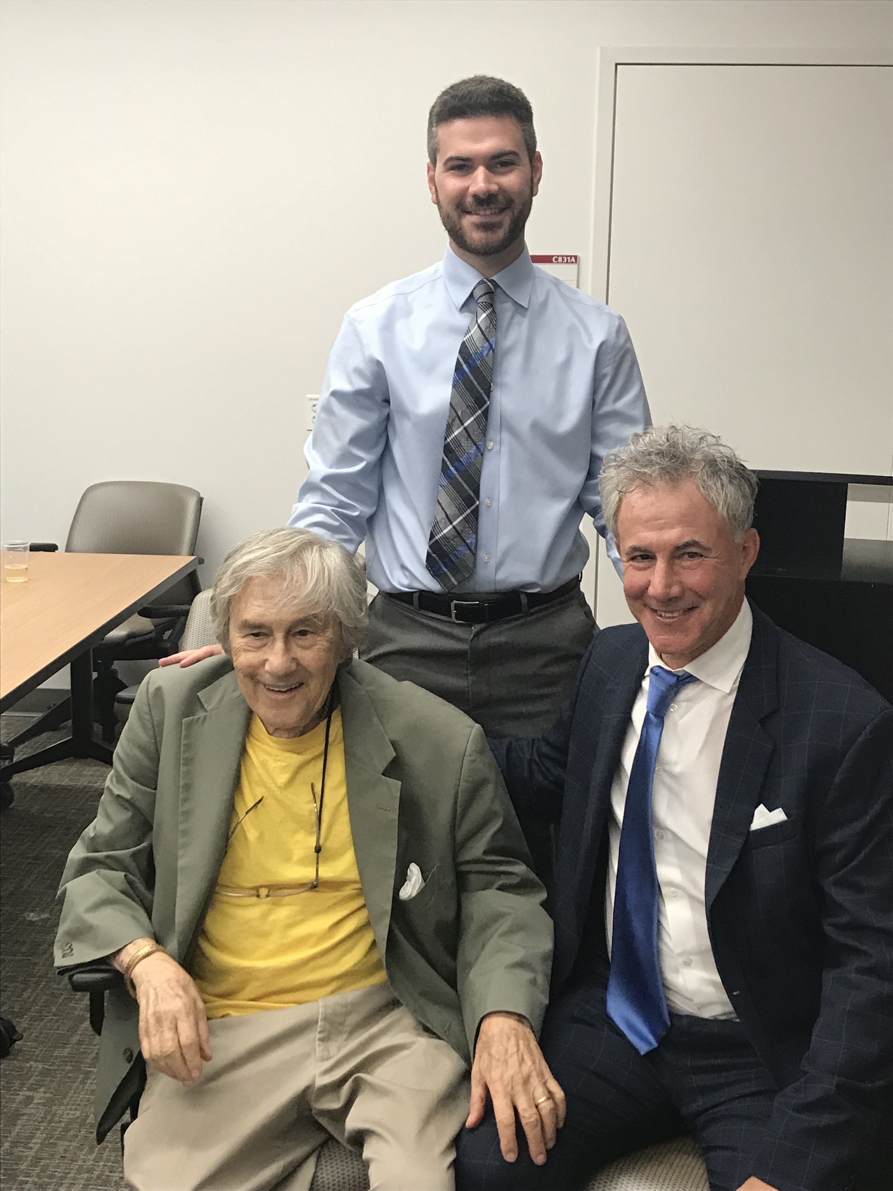 Three generations of Ph.D. microbiologists